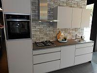 Greeploze keuken zijde grijs