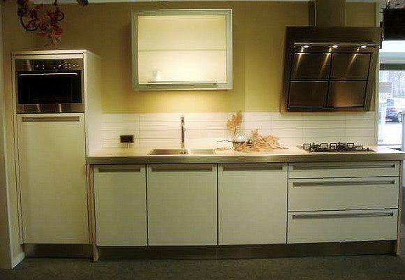 De voordeligste woonwinkel van nederland rwk ingefreesde greep 28045 - Deco keuken grise ...