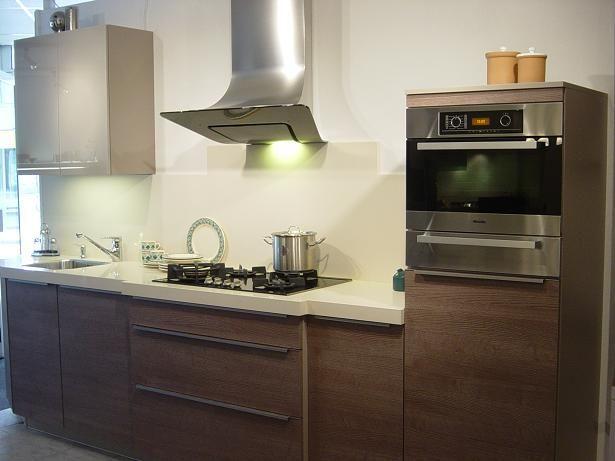 Rechte Design Keukens: Bkb keukens rechte keuken glasfront.