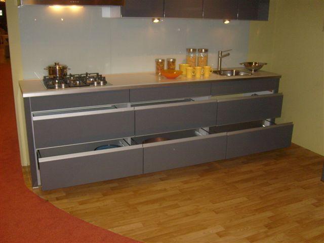 Keuken Grijs Hoogglans : woonwinkel van Nederland! nobillia primo basalt grijs [34669