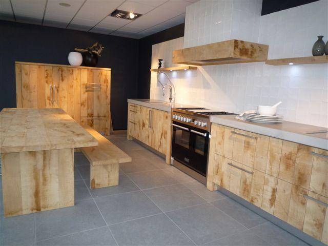 Eikenhouten Vloer In Keuken : Showroomkorting nl De voordeligste woonwinkel van