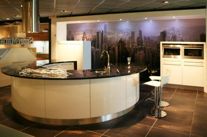 ... woonwinkel van Nederland!  Ronde designkeuken Y24 [34216