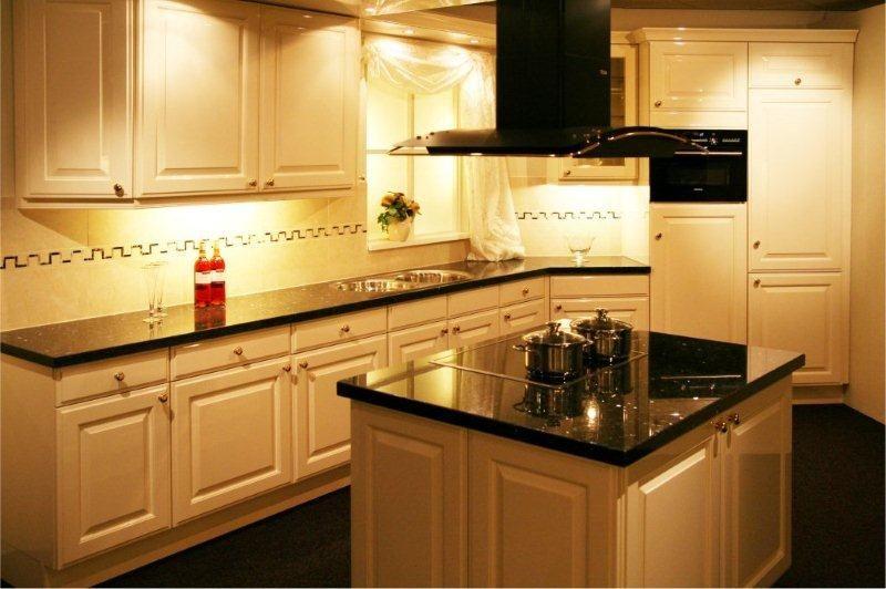 Keuken Kookeiland Showroom : woonwinkel van Nederland! Kookeiland hoogglans (A101) [34187
