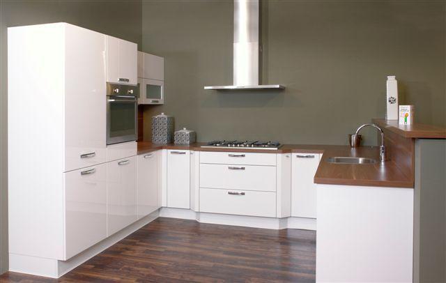 De voordeligste woonwinkel van nederland nobilia lux wit 36302 - Model keuken wit gelakt ...