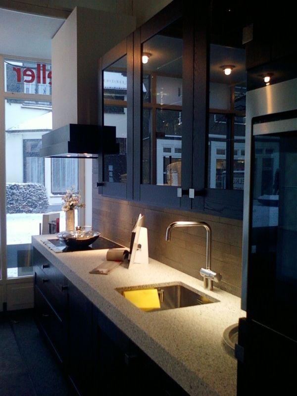 Eiken Keuken Zwart : Showroomkorting nl De voordeligste woonwinkel van