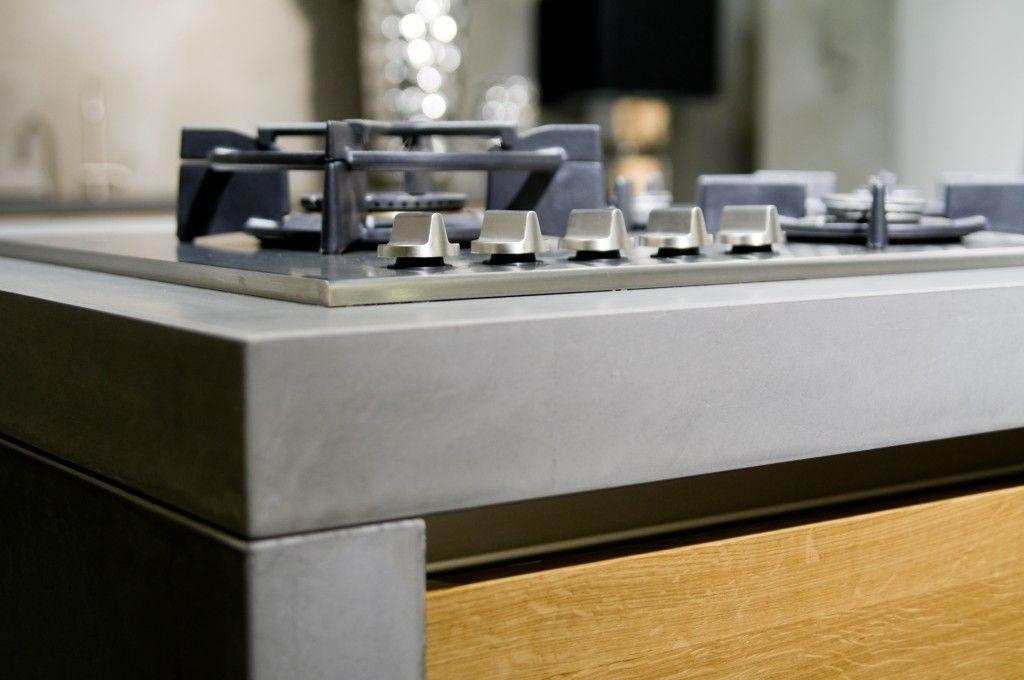 Dutch Design Badkamer ~ Keukenblad Betonlook Betonnen aanrechtblad nl keukenblad van beton