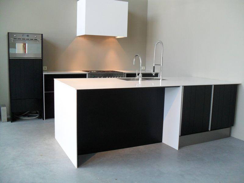 Keuken Zwart Blad : Keuken Zwart Blad : Keuken zwart beton New House Pinterest