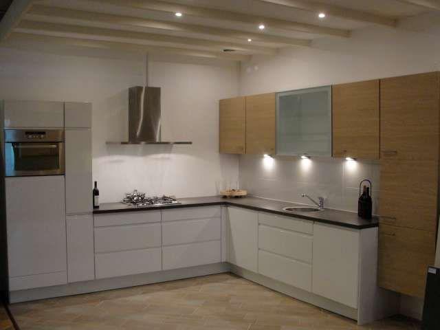 Apothekerskast Keuken Afmetingen : woonwinkel van Nederland! Greeploos wit hoogglans keuken [44781