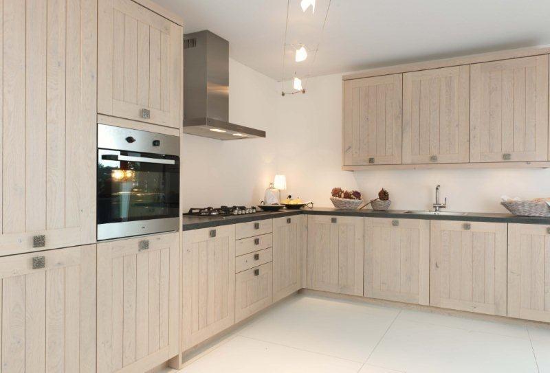 De voordeligste woonwinkel van nederland moderne hoekkeuken massief hout - Afbeelding moderne keuken ...