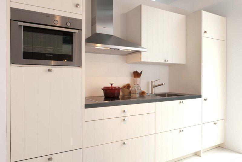 Compacte Keuken In Kast : rechte keuken houtfineer compact 9 44846 compacte keuken compleet met