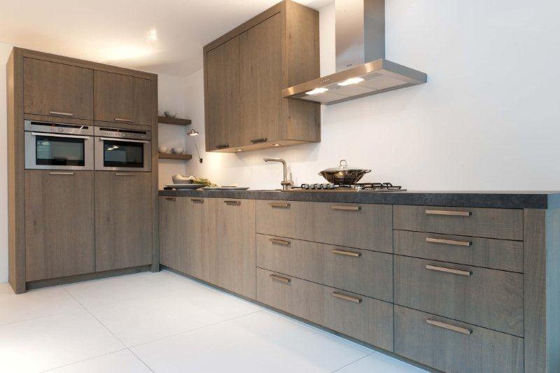 ... van Nederland! : Rechte keuken + 2 kasten modern (18) [44852