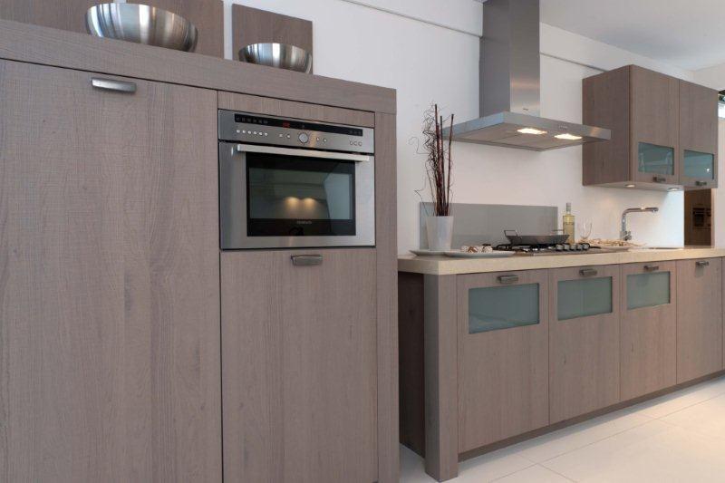 keuken kastenwand koopje 14 44853 fantastische keuken houtfineer met ...