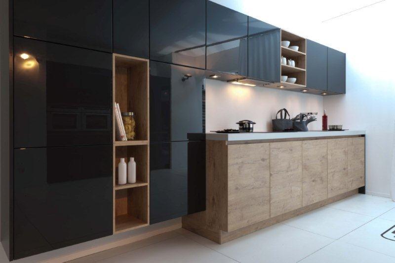De voordeligste woonwinkel van nederland strakke moderne keuken 5 44856 - Moderne designkeuken ...