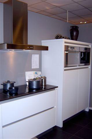 De voordeligste woonwinkel van nederland color wit greeploos gelakt 43344 - Model keuken wit gelakt ...