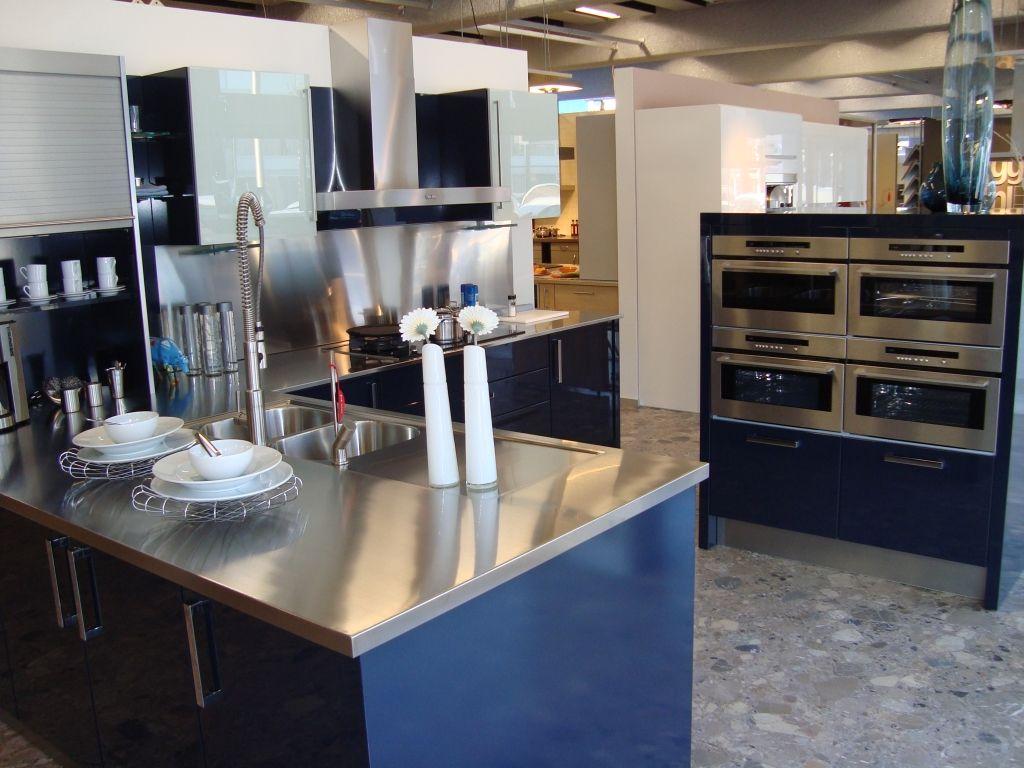 Keuken Quooker Kosten : woonwinkel van Nederland! Schitterende blauwe lak keuken [45348