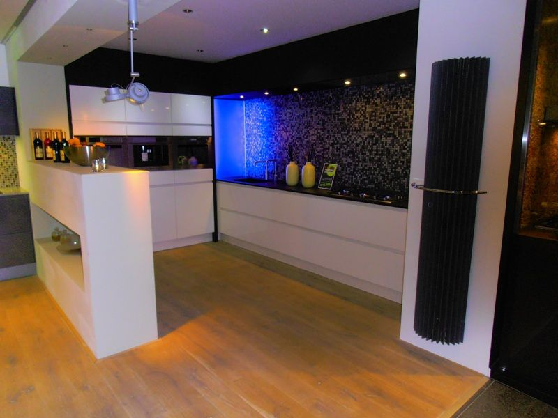 Achterwand witte hoogglans keuken – atumre.com