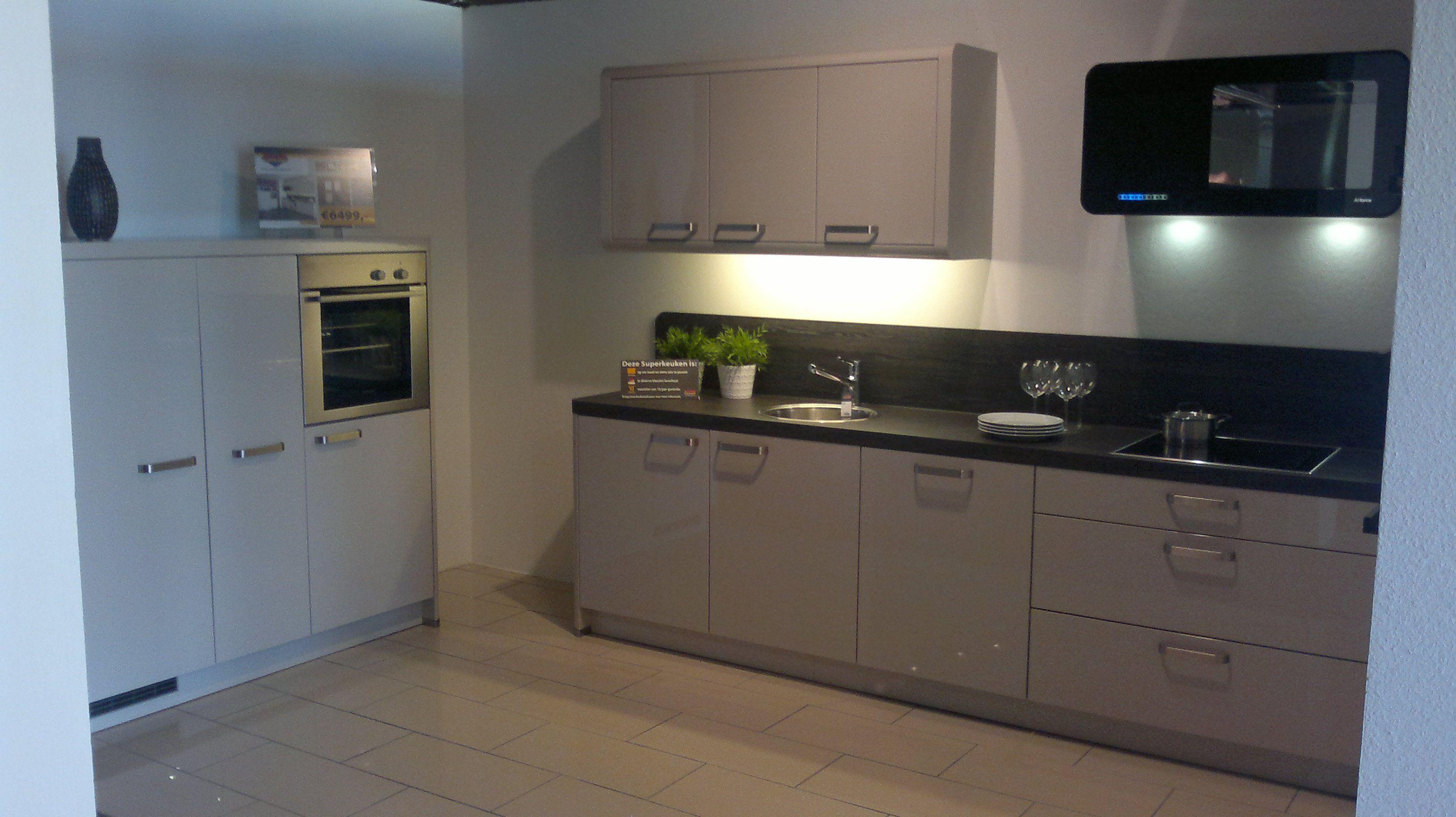 Keuken Kleur Sahara : woonwinkel van Nederland! Schotland Sahara hoogglans [44715
