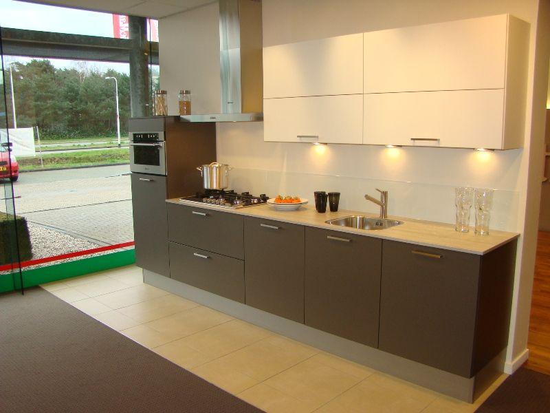 Keuken wit bruin inspiratie het beste interieur - Credenza voor keuken ...