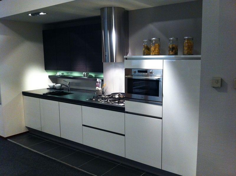 Greeploze Keuken Wit Mat : Keuken » Rechte Greeploze Keukens Inspirerende foto s en