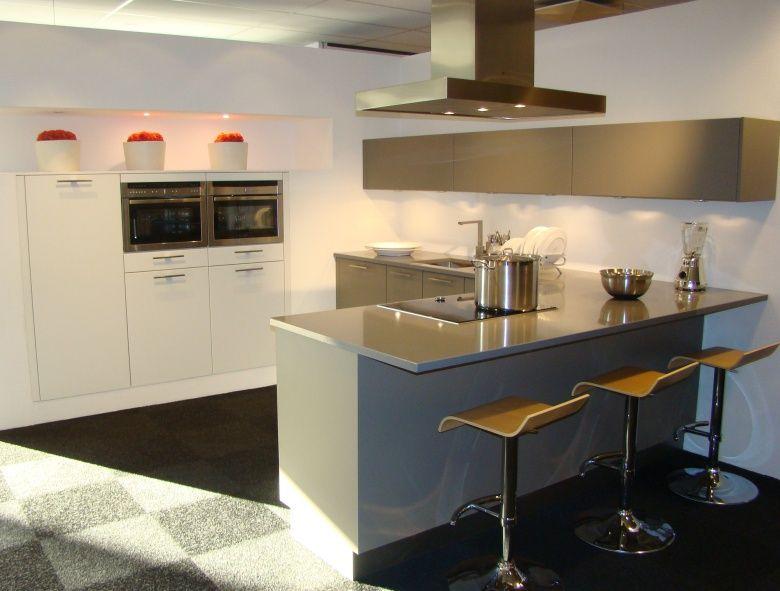De voordeligste woonwinkel van nederland moderne keuken met bargedeelte - Afbeelding moderne keuken ...