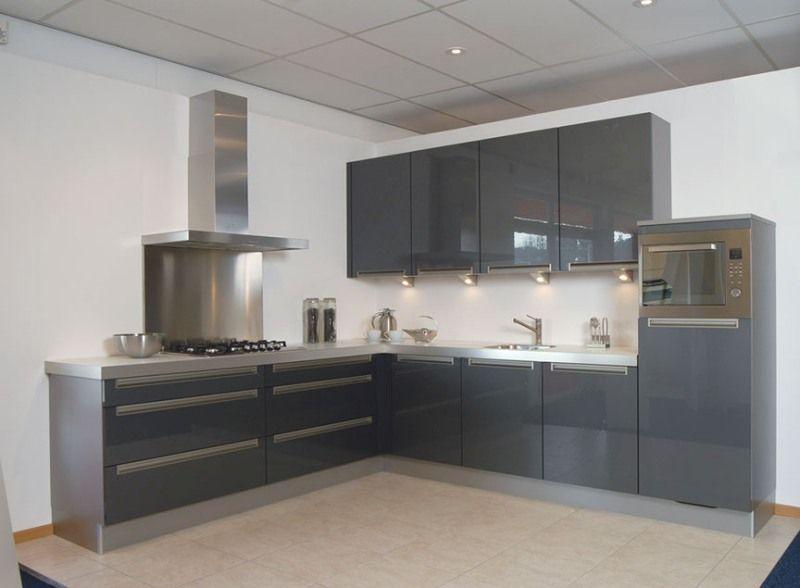 Keuken Antraciet Grijs : Keuken Antraciet : antraciet grijze keuken keuken complete keukens