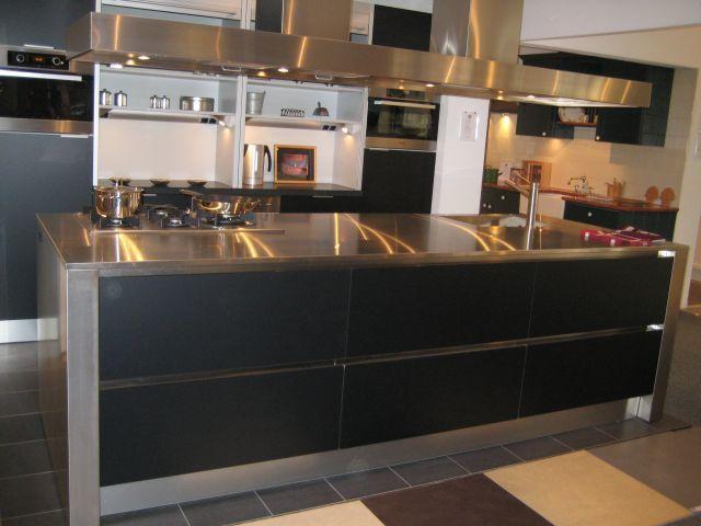 Keuken Zwart Mat : van Nederland! Eggersmann Fano mat zwart, showroomkeuken #7. [47875