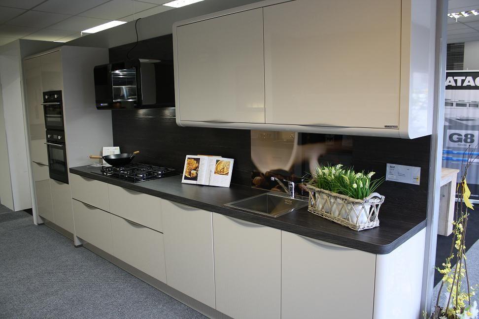 Keuken Kleur Sahara : woonwinkel van Nederland! Design Keuken recht (Nolte Spot) [40890