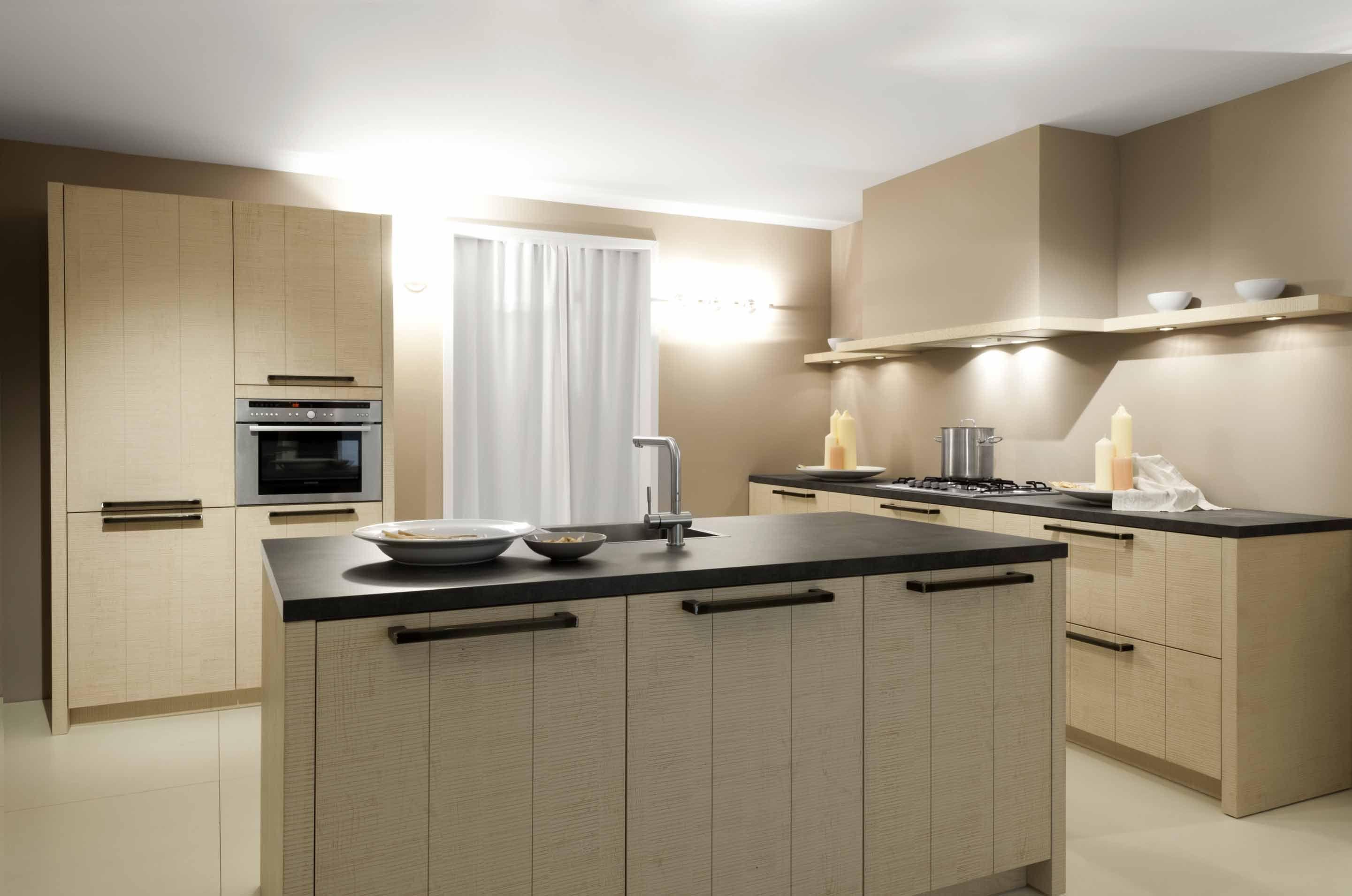 Keukeneiland tafel: moderne keukens voorbeelden inspiratie foto s ...