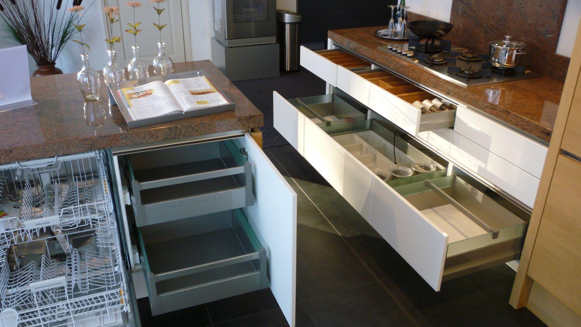 Keukens Hoogglans Wit Gelakte : wit lak met eiken fineer 49331 luxe ...