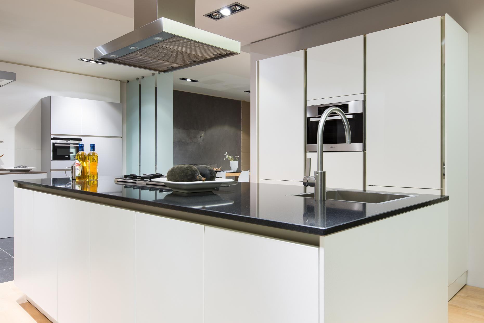 De voordeligste woonwinkel van nederland siematic s2k lotus wit 47251 - Eiland in de kleine keuken ...