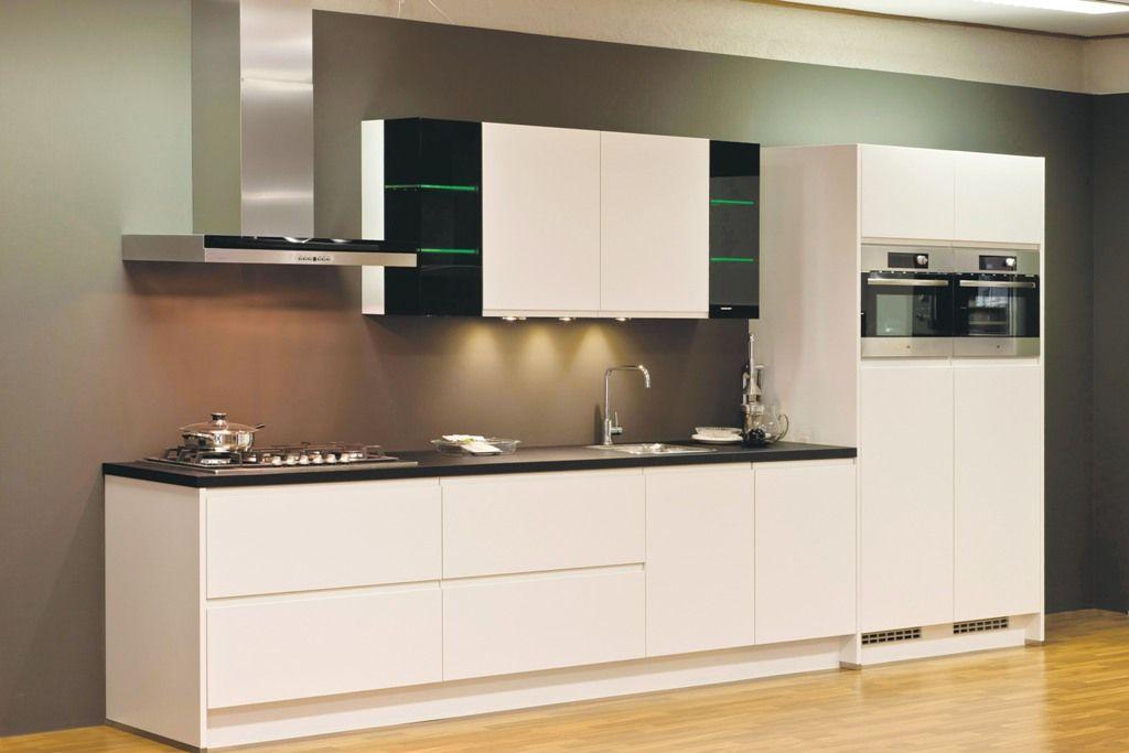 De voordeligste woonwinkel van nederland integra mat wit 43280 - Model keuken wit gelakt ...