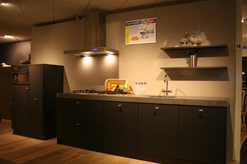 Keuken Landelijk Grijze : Rechte keuken landelijk. affordable rechte rechte with rechte keuken