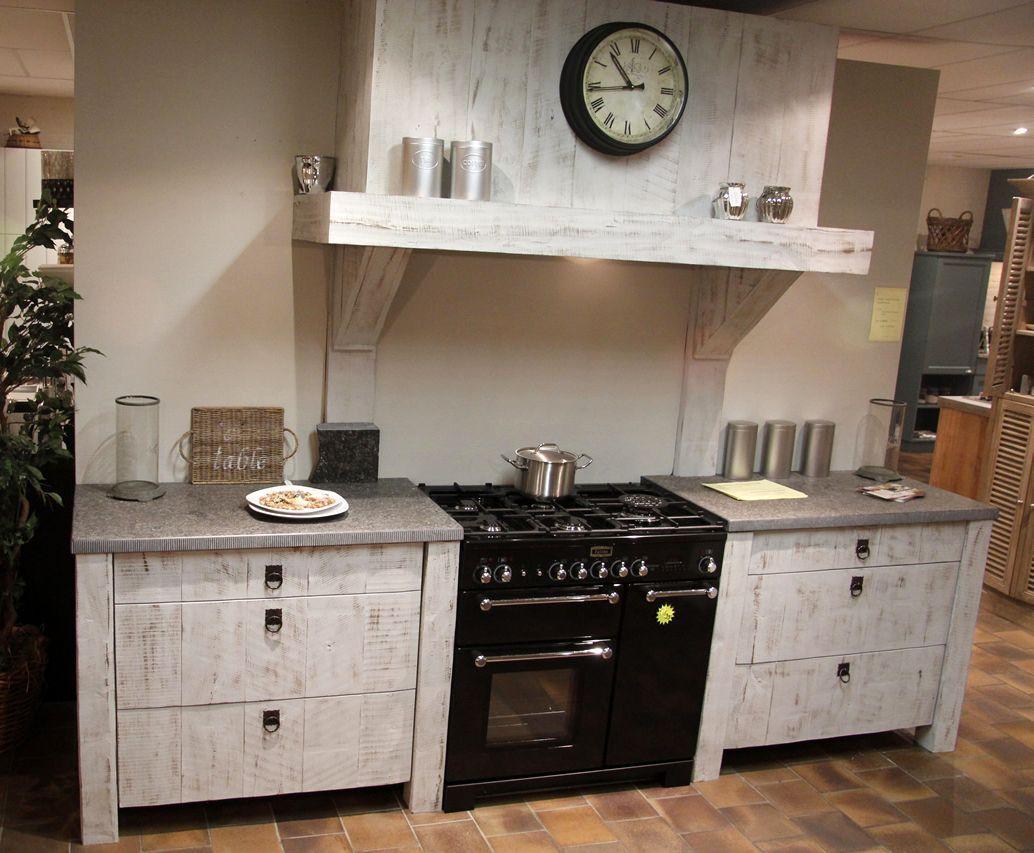 Stoere Keuken Hout : woonwinkel van Nederland! Stoere en robuuste keuken [50111