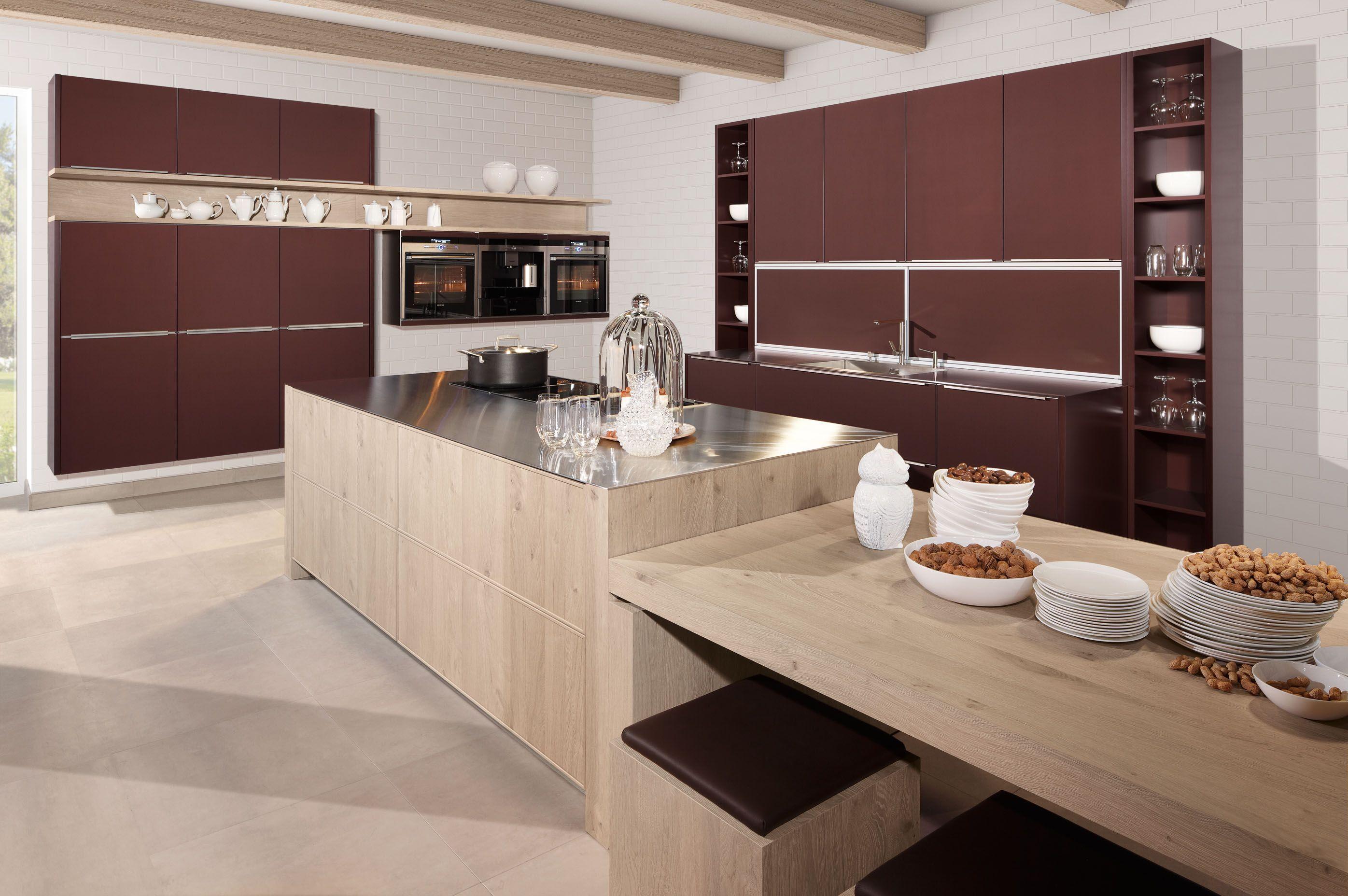 De voordeligste woonwinkel van nederland grote zeyko eilandkeuken met - Ingerichte keuken met geintegreerde tafel ...