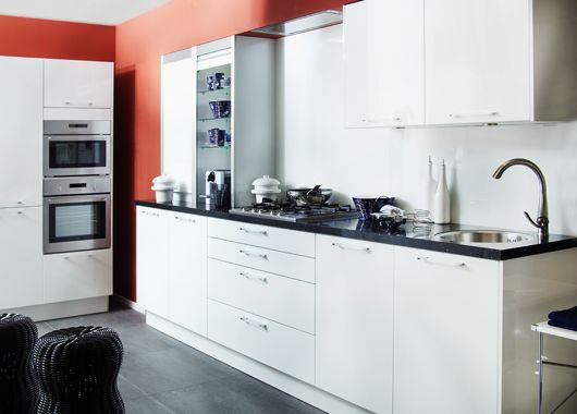 Modern Hoogglans Wit Hacker Keuken : ... woonwinkel van Nederland ...