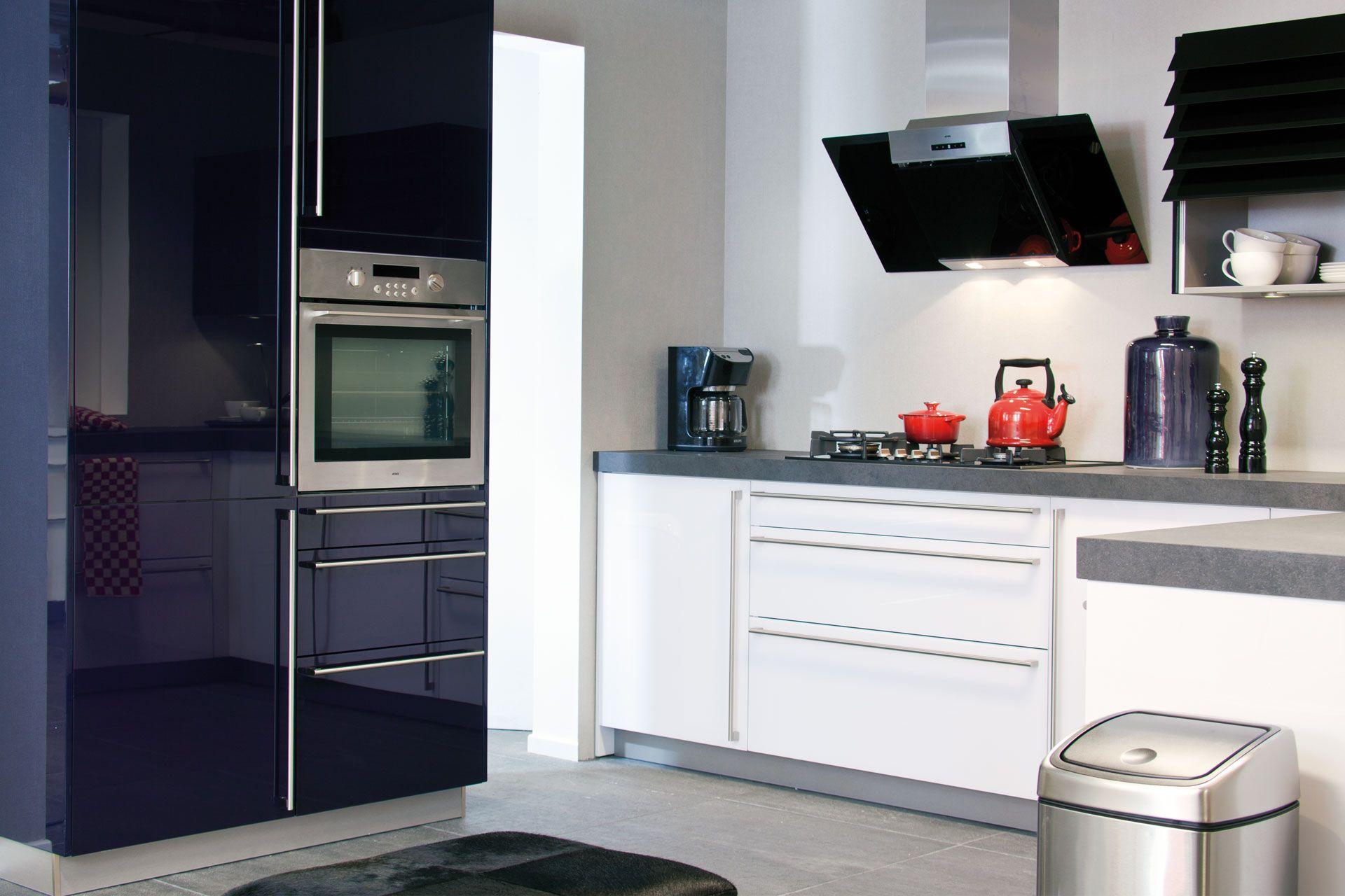 De voordeligste woonwinkel van nederland moderne keuken met glazen - Afbeelding moderne keuken ...