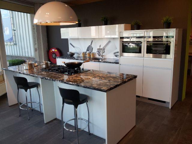 De voordeligste woonwinkel van nederland hoogglans lak lux in wit 47999 - Keuken witte lak ...