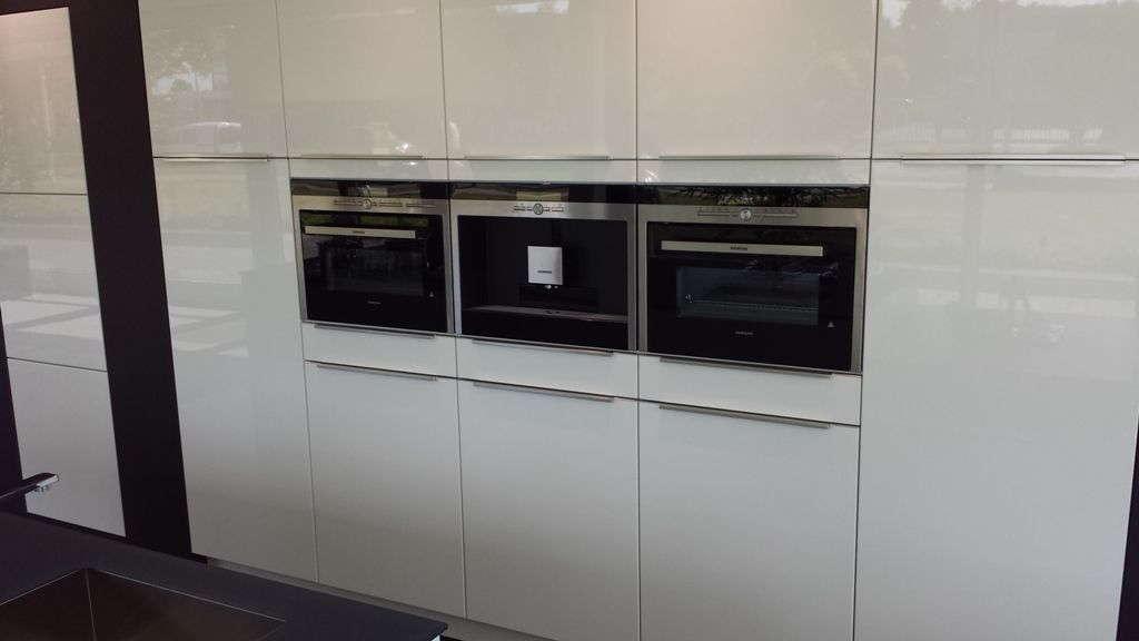 Keuken Grijs Hoogglans : Exclusieve hoogglans keuken met kook/spoeleilandAangeboden in verband