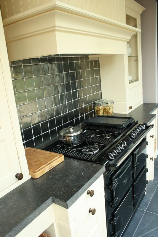 Keuken Met Schouw : woonwinkel van Nederland! Landelijke keuken met AGA fornuis [51053