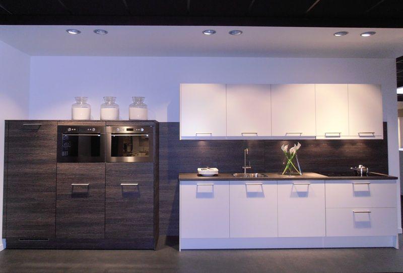 Eiken Keuken Wit : Showroomkorting nl De voordeligste woonwinkel van