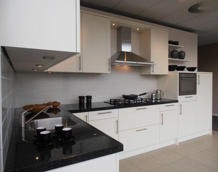 Keuken werkblad verlichting: keuken verlichting driehoek chrome set.