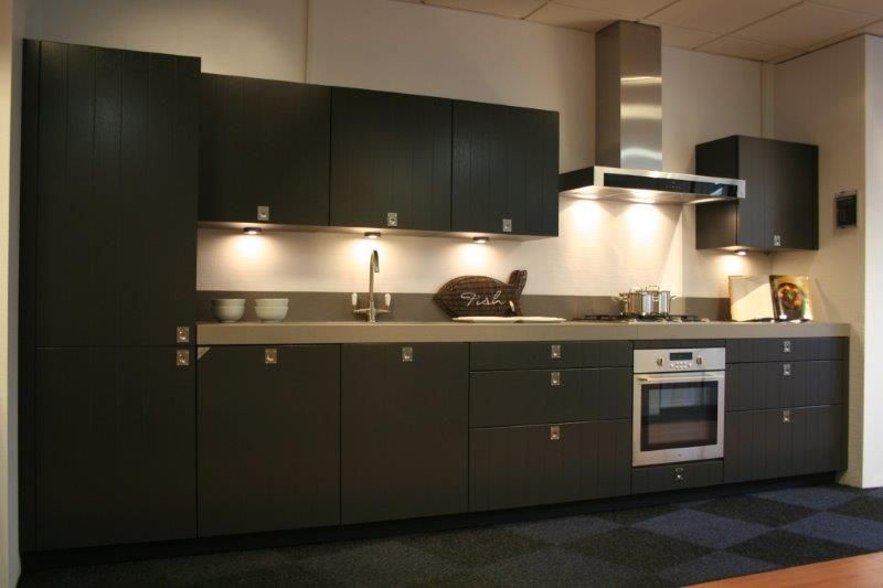 Spatwand Keuken Gamma : Houtfineer Keuken : Showroomkorting nl De voordeligste woonwinkel van