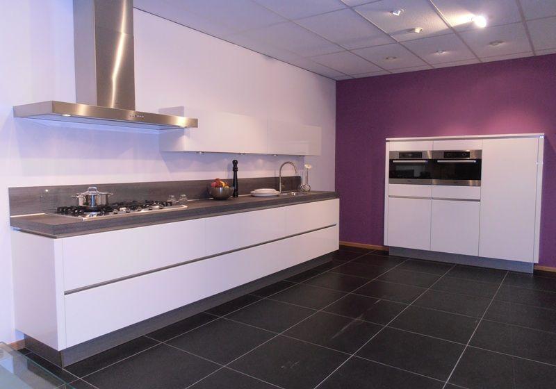 De voordeligste woonwinkel van nederland greeploze keuken in wit - Keuken witte lak ...