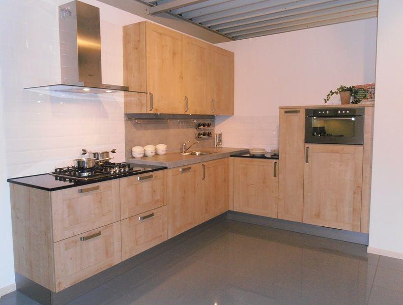 Eiken Cornwall Keuken : Showroomkorting nl De voordeligste woonwinkel van