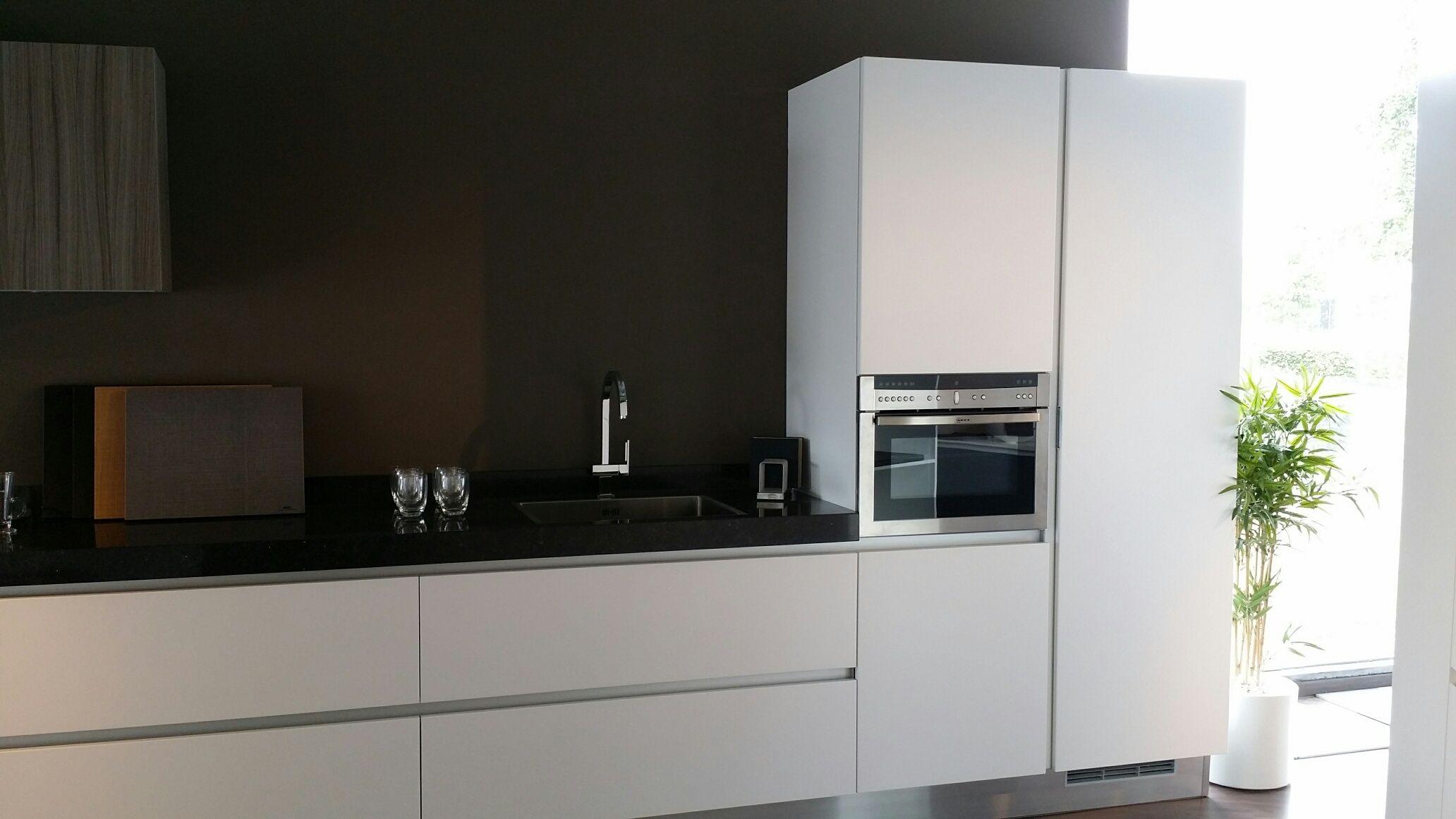 Keuken Wit Mat : woonwinkel van Nederland! Aster Cucine model Atelier mat wit [47839