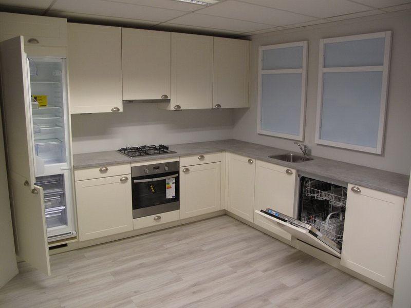 De voordeligste woonwinkel van nederland eigentijdse keuken 45207 - Eigentijdse keuken grijs ...