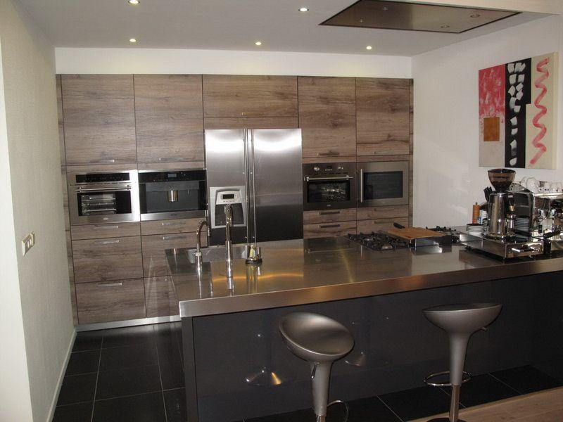 De voordeligste woonwinkel van nederland boretti eiland 28086 - Model amerikaanse keuken ...
