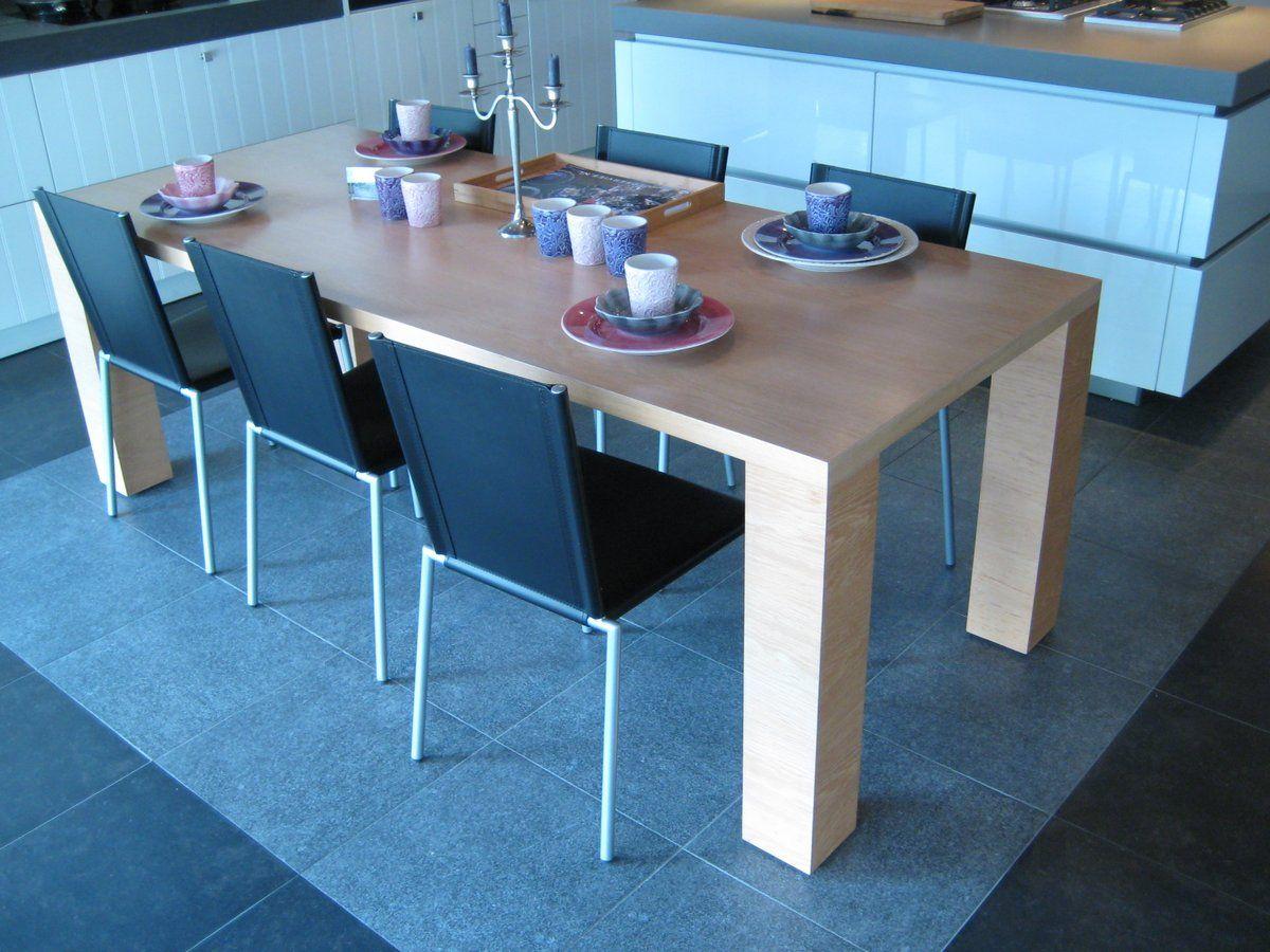 De voordeligste woonwinkel van nederland eettafel modern 220 90 56238 - Moderne eettafel ...