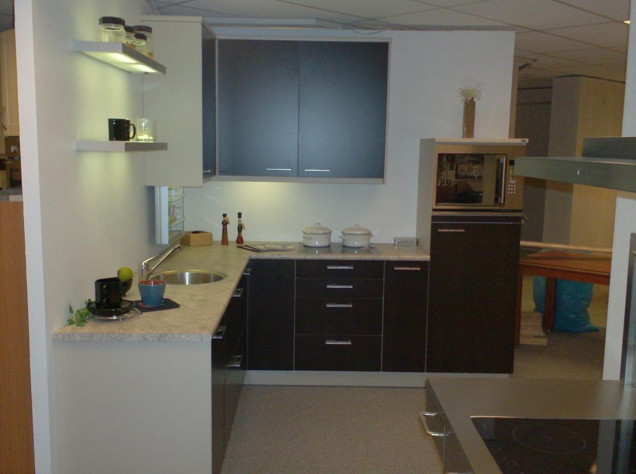 de voordeligste woonwinkel van nederland alno plan zwart bruin eiken 22233. Black Bedroom Furniture Sets. Home Design Ideas