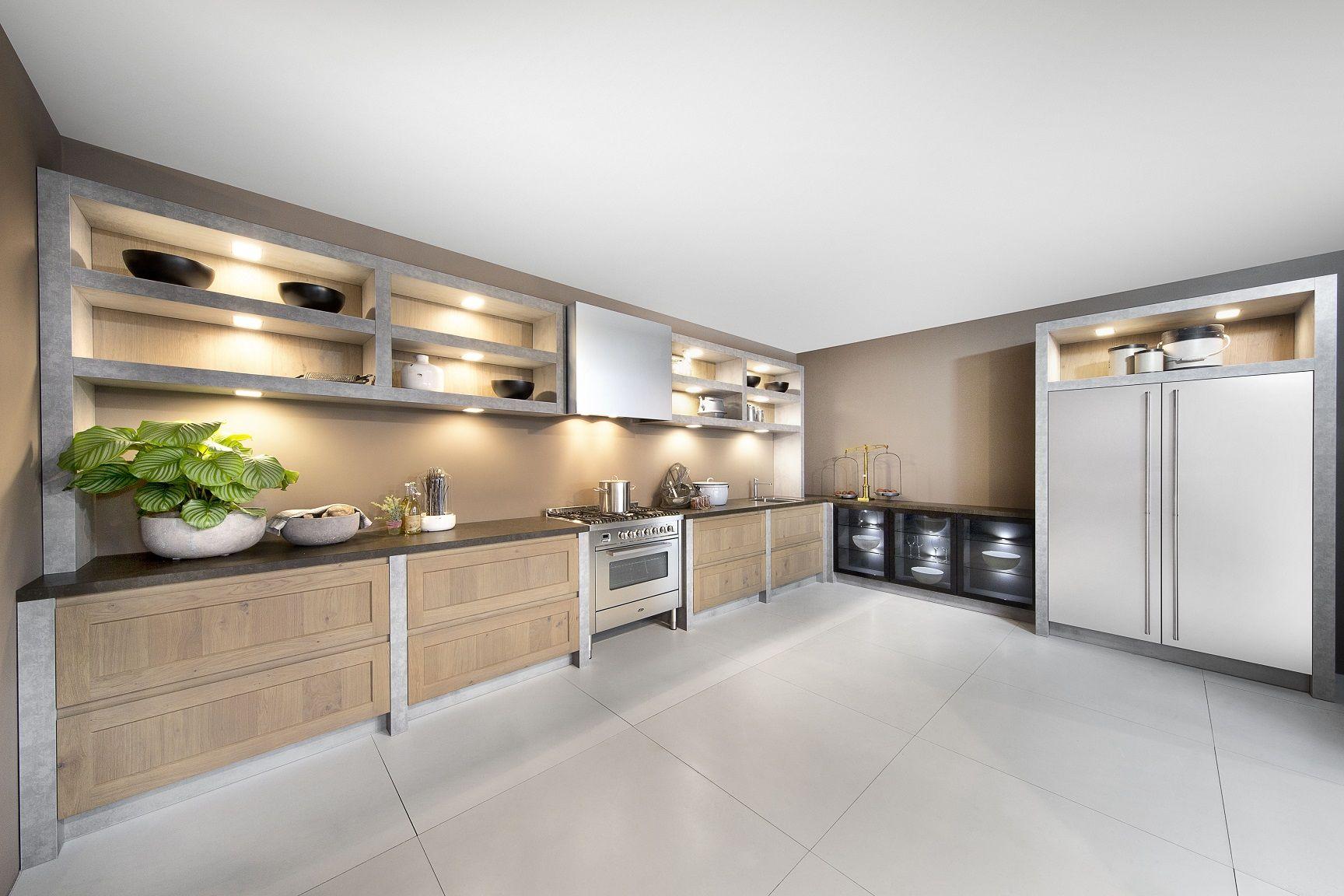 Moderne keuken hout. awesome awesome dsm keukens moderne keuken with